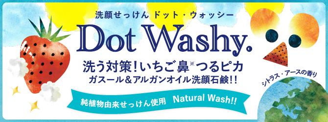 いちご鼻を洗う洗顔石鹸 ドット・ウォッシー[Dot Washy.]