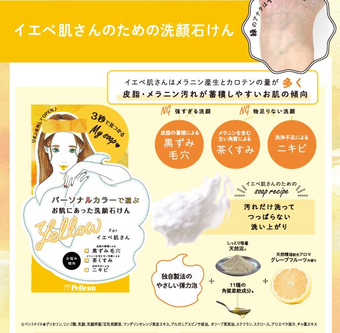イエベ肌さんのための洗顔石けん